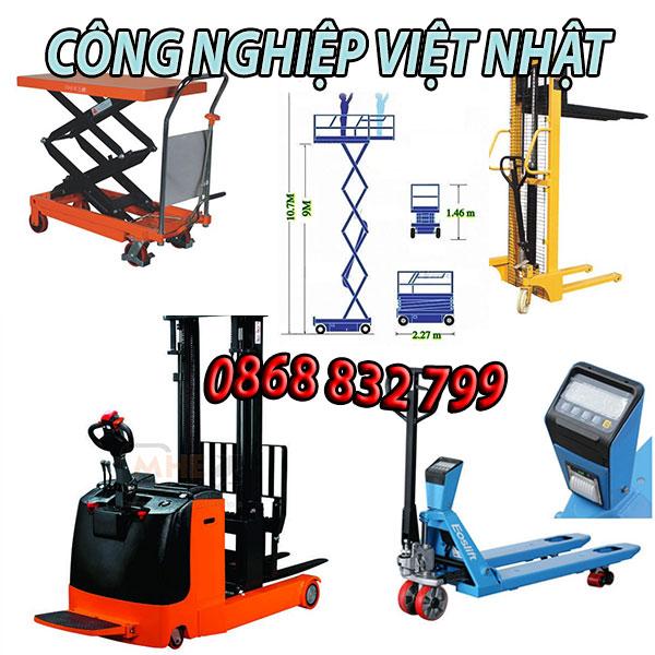 Đại lý phân phối xe nâng tay thấp Việt Nhật